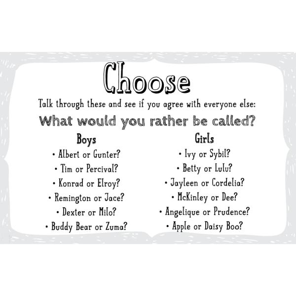 Choose a name